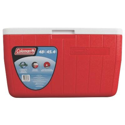 Coleman 48qt Performance Cooler - Red