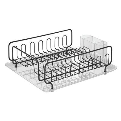 InterDesign Under Sink Organizer with Adjustable Shelf White
