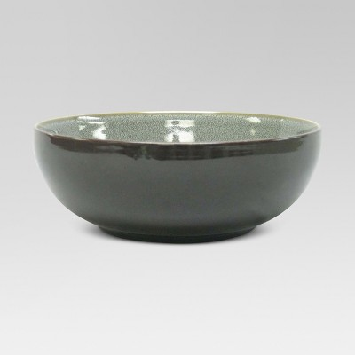 Belmont Serving Bowl Stoneware Gray 60oz - Threshold™