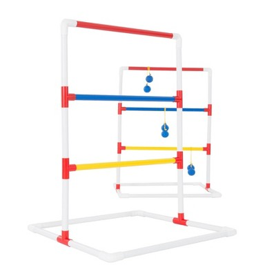 Hey! Play! Ladder Toss Outdoor Roundnet Game Set