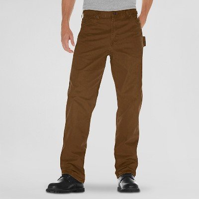 Dickies® Men's Relaxed Straight Fit Sanded Duck Canvas Carpenter Jeans