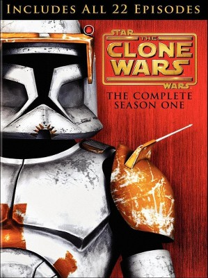 Star Wars: The Clone Wars - The Complete Season One [4 Discs]