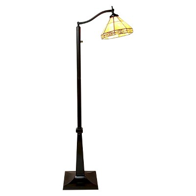 Tiffany-Style Mission Reading Lamp (Lamp Only)