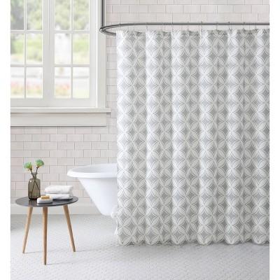 paisley shower curtain gray freshee