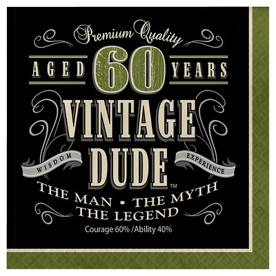 16ct vintage dude 60th