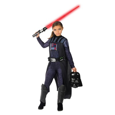 Star Wars Girls' Classic Darth Vader Halloween Costume
