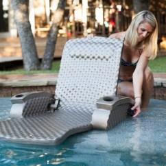 Pool Chair Floats Target Walmart Zero Gravity Trc Recreation Super Soft Adjustable Lounge Recliner Float Tropical Teal