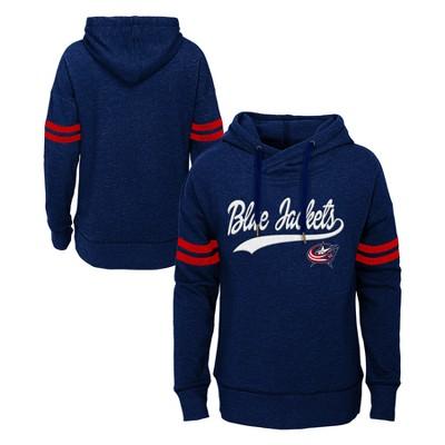 NHL Columbus Blue Jackets Girls' OT Fleece Hoodie