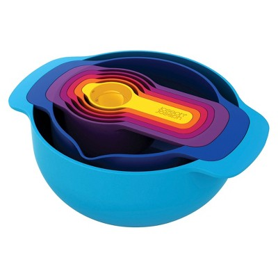 Joseph Joseph® Nest™ Plus 7 Piece Nesting Mixing Bowls and Measuring Set