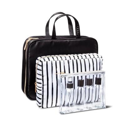 Sonia Kashuk™ Weekender Bag Set - Black/Stripe