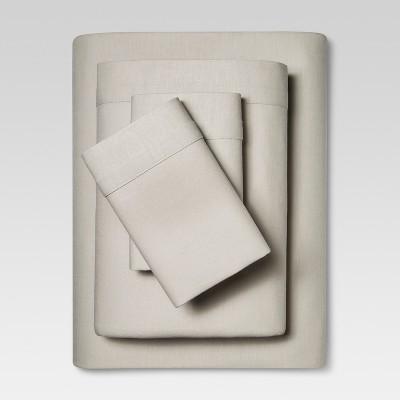 Linen Blend Sheet Set Cal King) Gray - Threshold™