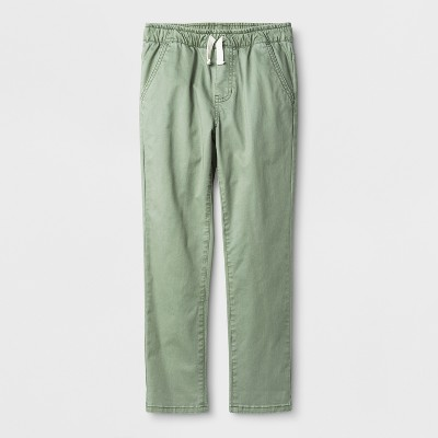 Boys' Slouchy Stretch Chino Pants - Cat & Jack™