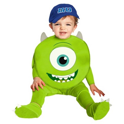 Monsters University Baby Mike Costume 12-18 M