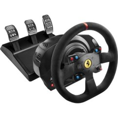 Steering Wheel Pc Club Car Battery Wiring Diagram Thrustmaster T300 Ferrari Integral Racing Alcantara Edition About This Item
