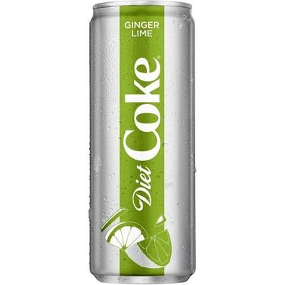 UPC 049000075090 - Diet Coke Ginger Lime - 12 fl oz Sleek ...