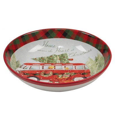 144oz Home For Christmas Ceramic Serving Bowl - Certified International