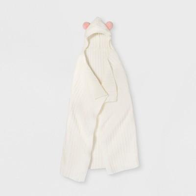 Hooded Knit Blanket - Pillowfort™