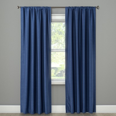 84 x50 henna blackout curtain panel blue project 62