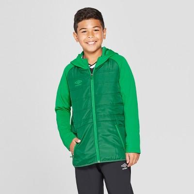 Umbro Boys' Insulated Full Zip Fleece Jacket