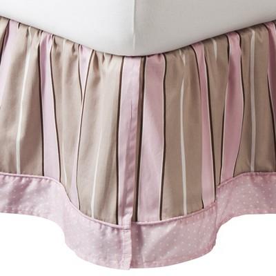 Sweet Jojo Designs Mod Dots Bed Skirt - Pink (Queen)