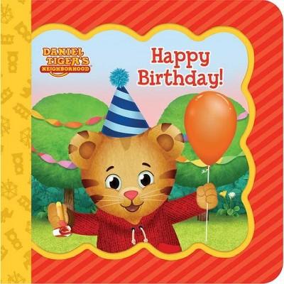 happy birthday daniel tiger s neighborhood little bird greetings keepsake card board book with personalization fl by scarlett wing