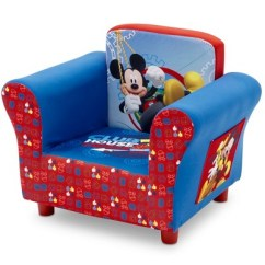 Mickey Mouse Clubhouse Chair And Ottoman Target Disney Upholstered