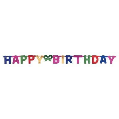 large happy birthday party