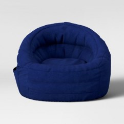 Blue Bean Bag Chairs Marge Carson Cocoon Chair With Pocket Pillowfort Target