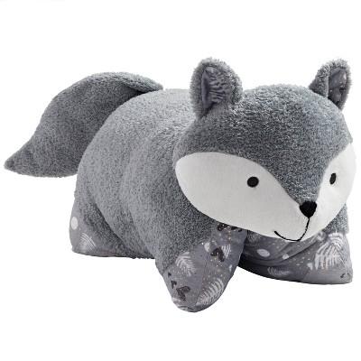 naturally comfy fox pillow pillow pets