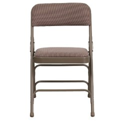 Folding Chair Fabric High Restraints Riverstone Furniture Collection Beige Target