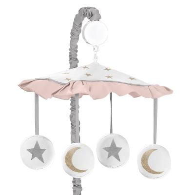 Sweet Jojo Designs Musical Mobile - Celestial - Pink/Gold