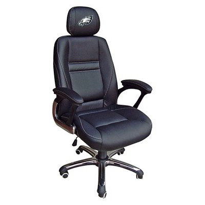 philadelphia eagles chair graco duodiner high canada nfl leather office target about this item