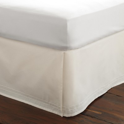Solid Tailored Bedskirt White - Laura Ashley