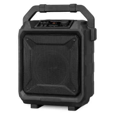innovative technology portable wireless outdoor bluetooth tailgate party speaker with trolley black