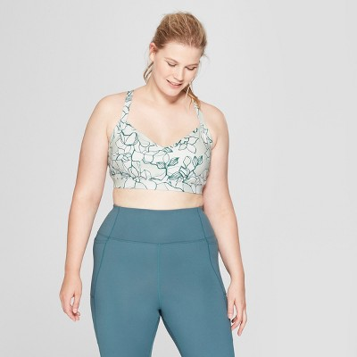 Women   plus size comfort floral print sports bra joylab also target rh