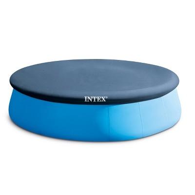 "Intex 13' X 12"" Easy Set Above Ground Pool Cover & Swimming Pool Maintenance Kit"