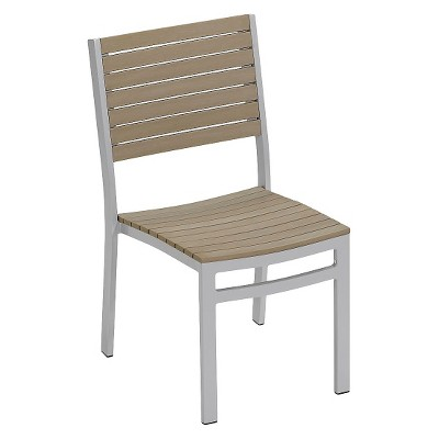 aluminum dining chairs target acrylic with cushions travira set of 2 patio powder coated frame about this item
