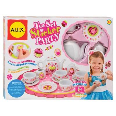 Alex Toys Tea Set Sticker Party