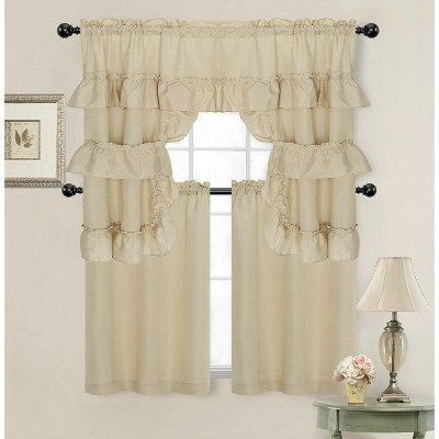 kitchen cafe curtains target