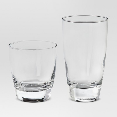 Sherbrook Glass 12pc Short and Tall Tumbler Set - Threshold™