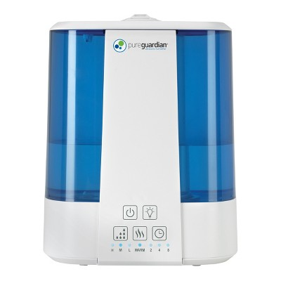 Top Fill Ultrasonic Warm & Cool Mist Humidifier with Aroma Tray Blue - Pure Guardian