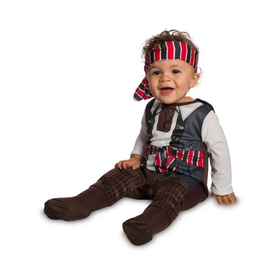 Baby Boys' Tiny Pirate Halloween Costume 6-12M - Rubie's