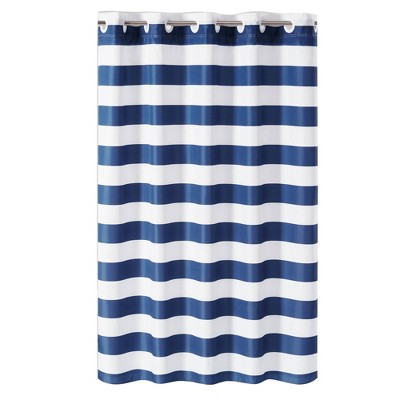 Cabana Stripe Shower Curtain with Liner - Hookless