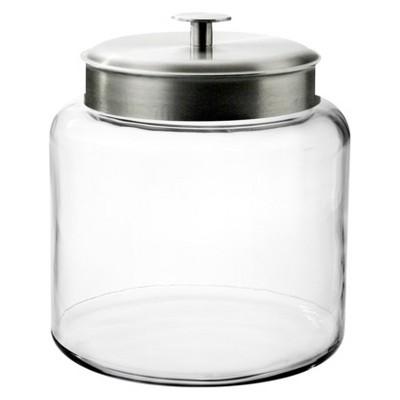 Montana Glass Jar with Silver Lid - 1.5 gal.