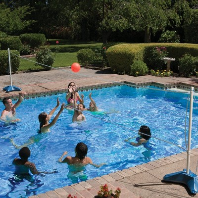 Poolmaster Across Pool Volleyball Net Swimming Pool And Water Fun Game Combo