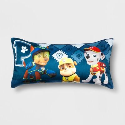 paw patrol chase toddler pillow tv