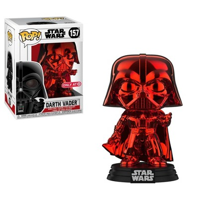 Funko POP! Star Wars: Red Chrome Darth Vader (REDcard Exclusive)