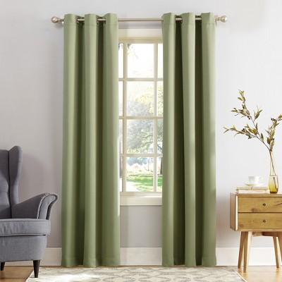 Kenneth Grommet Top Blackout Window Curtain Panels - Sun Zero