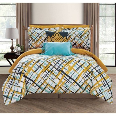 Chic Home Design Miro Bed In A Bag Comforter Set