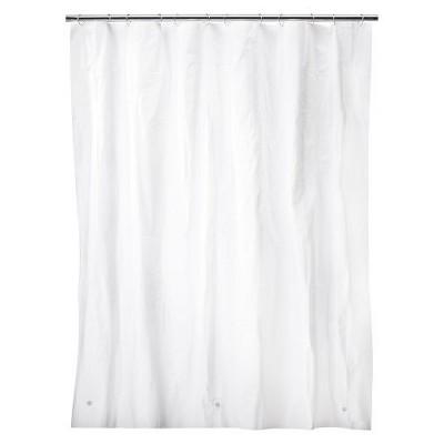 Solid Super Soft PEVA Shower Liner White - Room Essentials™